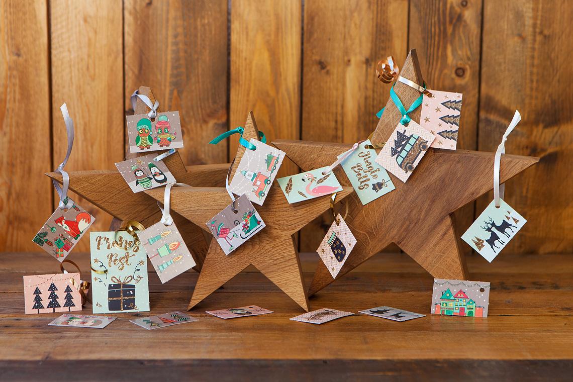 Zauberhafte Geschenkanhänger für Deine Weihnachtsgeschenke